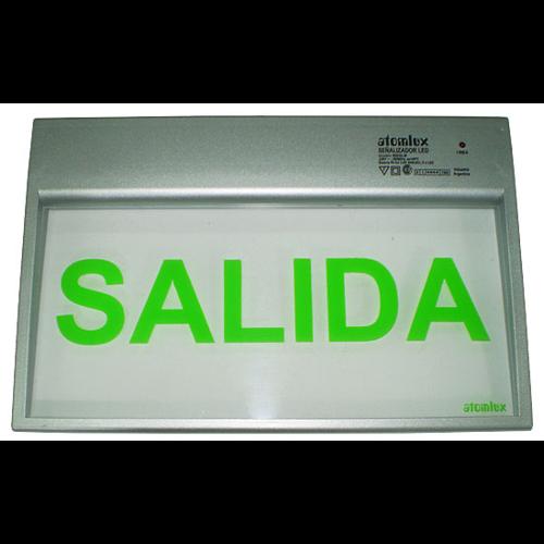 Atomlux – Señalización LED con leyenda de SALIDA o SALIDA DE EMERGENCIA